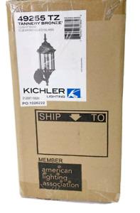 Kichler 49255TZ Chesapeake Cast Aluminum Outdoor Wall Sconce Lighting 100 Watt