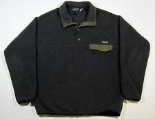 VTG Patagonia Synchilla Snap Fleece Jacket L USA Made Pullover Outdoors Snow