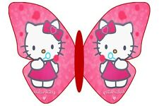24 Papillon Hello Kitty Decoration Gateau Disque Azyme  Anniversaire