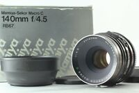 【N MINT +3 in BOX】 Mamiya Sekor C 140mm f/4.5 Macro MF Lens RB67 S SD From JAPAN