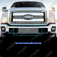 Fits 2011-2016 Ford F-250/F-350 Super Duty Bumper Billet Grille Insert