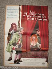 Die amourösen Abenteuer der Moll Flanders KINOPLAKAT A1 sexy erotic Lilli Palmer