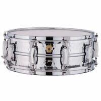 "Ludwig Supraphonic LM400K Hammered Aluminum Snare Drum, 5"" x 14"""
