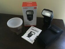 Canon Speedlite 580EX II Shoe Mount Flash New in Retail Packaging Fast Free Ship