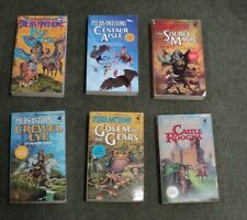 Lot # 1 - Piers Anthony - 6 Xanth fantasy paperbacks