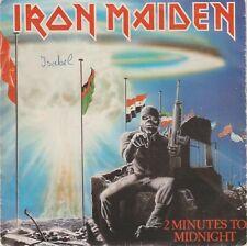 IRON MAIDEN - 2 Minutes To Midnight * SINGLE 1984 SPANISH ISSUE HEAVY METAL HARD