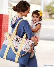 Matilda Jane Going Somewhere Tote Beach Diaper Bag With Cosmetic Bag NWT
