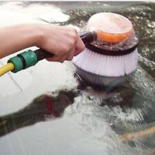 Car Cleaning Brush Car Foam Brush Wax Brush Switch Water Flow Rotation Brush ABE