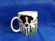 "Americaware Jack Russell Terrier Colorful Mug Large Coffee Tea 4.25"" high 2010  00004000"