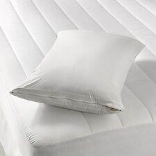 NEW 2Deluxe Waterproof Hypoallergenic Zipper Vinyl Pillow Cover Bed BugProtector