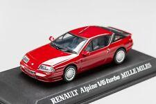 RENAULT ALPINE Mille Miles Bordeaux 1986-1991 NOREV 1/43