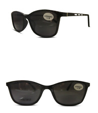 Bifocal Designer Sunglasses Black Sun Readers Spring Hinges 100% UV Protection