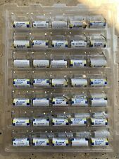 Lot Of 35 Lisun Cr123a Batteries With Solder Tabs.