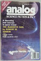 Analog Science Fiction / Fact May 1992 Robert Zubrin, J. Brian Clarke, R M Allen