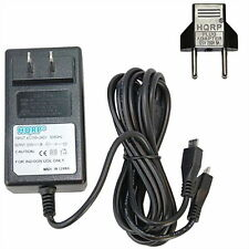 HQRP Dual micro USB AC Adapter for Logitech Rechargeable Trackpad T651 / T-R003