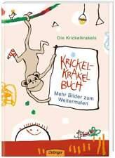 Krickel-Krakel Buch - Mehr Bilder zum Weitermalen   Kinder Malbuch ab 4 Jahre