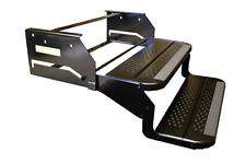 "RV Motorhome Camper Trailer 20"" Double Step / 12"" Drop / Foldaway Entry Step"