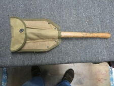 WWII US ARMY MODEL 1943 FOLDING SHOVEL W/ CARRIER-DATED 1945-ORIGINAL