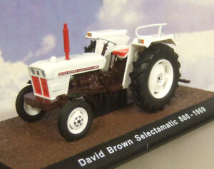 Superbe Atlas Miniature 1/32 1969 David Marron Selectamatic 880 Tracteur