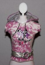 Barbie Doll Clothes Fashionista Life in the Dreamhouse Belted Top Shirt
