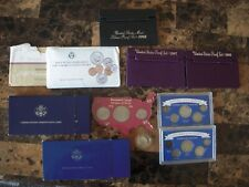 Coin Collection. 90% Silver Coins Proof Sets , Unc. Sets and more