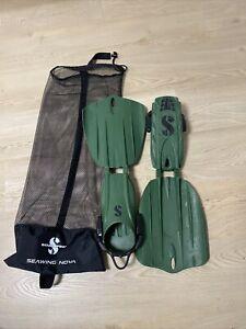 Scubapro Seawing Nova Geräteflosse Gorilla Armygreen Medium