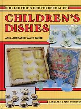 Children's Dishes - Glass China Plastic - Identification + Values / Scarce Book