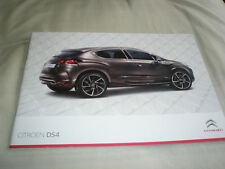 Citroen DS4 range brochure Nov 2012