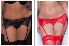 Lace Glamour Lingerie & Nightwear for Women's Suspender Belt
