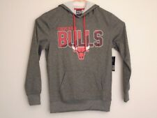 NBA Chicago Bulls grey sweatshirt hoodie small