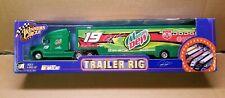 RARE! '02 NIB WINNERS CIRCLE NASCAR #19 JEREMY MAYFIELD MOUNTAIN DEW TRAILER RIG