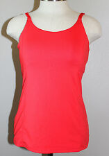 Athleta Bra Cup Wild Card Tank Coral Pink Size 34B Beautiful Condition
