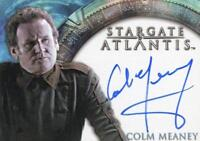 Stargate Atlantis Season One Colm Meaney Autograph Card