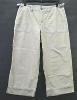 Liz Claiborne Lizwear Jeans Women's Sz 12 100% Cotton Large Pocket Casual Pants
