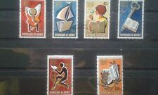 GUINEA 1972 634-39 612-17 Intl. Book Year Jahr des Buches Reading Child.