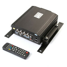 4CH Car Vehicle Mobile DVR Support 2TB Sata HDD Hard Disk Audio Video Recorder