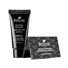 BOSCIA Luminizing Black Mask A Peel Off Mask 1oz & Full-Size Blotting Linens Set