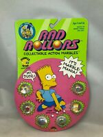 Rad Rollers The Simpsons Collectible Action Marbles 1990