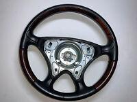 2001 Mercedes R129 SL600 Burl Leather Steering Wheel