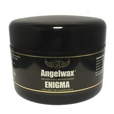 Angelwax Enigma 33ml Car Wax, Amazing Gloss and Beading, Ceramic Infused Wax