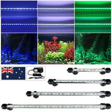 58cm-108cm Aquarium Fish Tank LED Submersible Light Bar AU Plug Blue/White/RGB