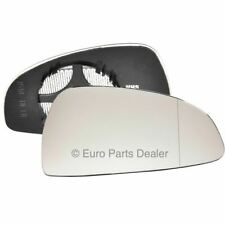Wing mirror glass for AUDI Tt 98-06 Right Driver side Aspherical Electric