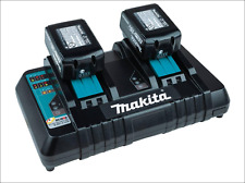 Makita BL1850B2DC2X - DUAL charger & TWO 18V Lithium-Ion 5.0 Ah batteries *NEW*