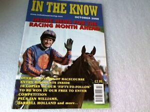 In The Know-Horse Racing Magazine OCT 2000 Inc: D Holland & I Williams interv'w