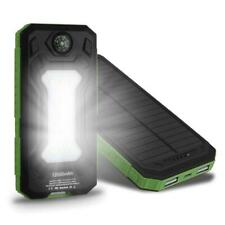 Portable 500000mah Dual-USB powerbank Waterproof Solar Power Bank Universal
