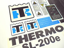 Thermo King SL200e complete durable decal set