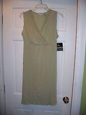 NWT Fashion Bug Size 14 Sleeveless Summer Dress Light Green Knee Length