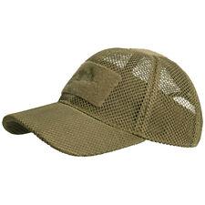 Helikon Military Tactical Mesh Baseball Cap Operator Cadet Breathable Hat Coyote