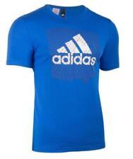 Camiseta de niño de 2 a 16 años adidas color principal azul