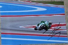 "Nicky Hayden Signed 12"" x 8"" Colour Photo MotoGP Ducati"